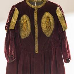 Imatge d'una indumentària de La Patum