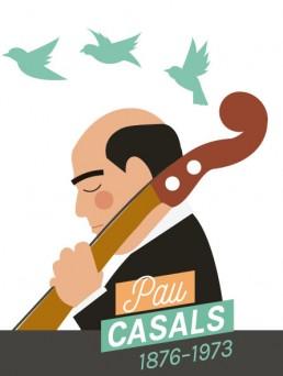Il·lustració de Pau Casals p