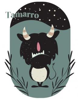 I·lustració del Tamarro per al calendari mitològic de 2021